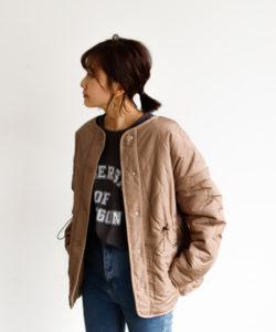 アンティローザホリデーのキルティングジャケット画像