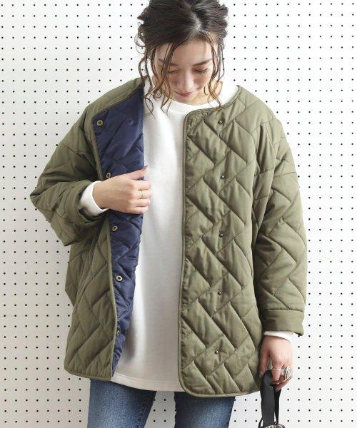 キルティングジャケットのブランドフリークスストアの参考画像