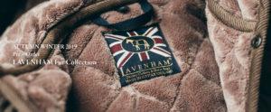 キルティングジャケットのラベンハムブランド参考画像