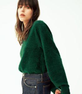 10の秘密で仲間由紀恵が着用しているコート衣装の画像