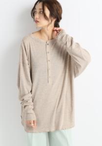知らなくていいコトで吉高由里子が着用していたロングTシャツ衣装のブランド画像
