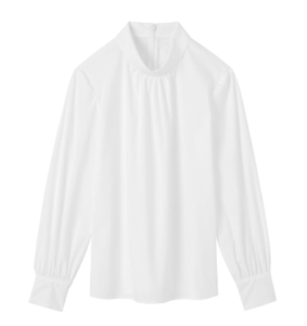 知らなくていいコトで吉高由里子が着用していた白ブラウス衣装のブランド画像