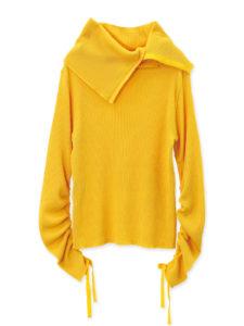 トップナイフで広瀬アリスが着ていた黄色いニット衣装の画像