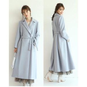 10の秘密で仲間由紀恵さんが着ていたコートブランドの画像