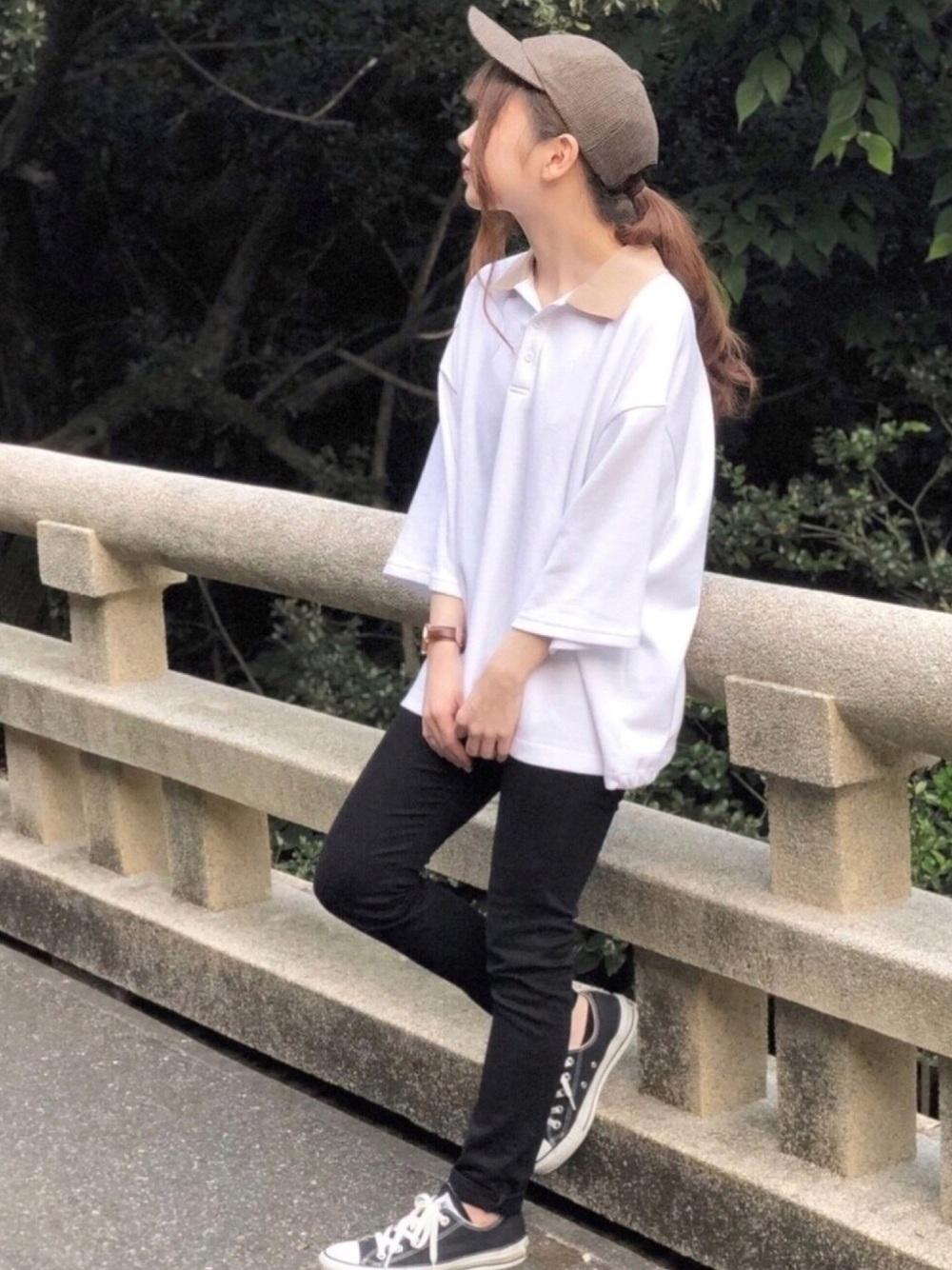 ポロシャツ白に関する参考画像
