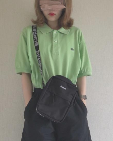 ポロシャツ緑に関する参考画像