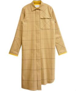 ランチ合コン探偵で山本美月が着用していたロングシャツ衣装のブランド画像