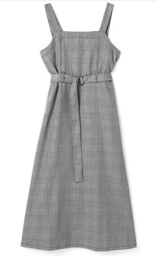 恋つづで上白石萌音が着用しているジャンパースカート衣装ブランドの参考画像