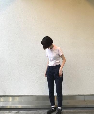 ポロシャツピンクに関する参考画像