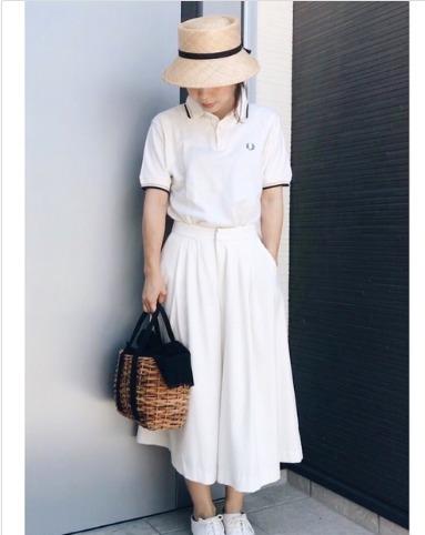 ポロシャツホワイトに関する参考画像