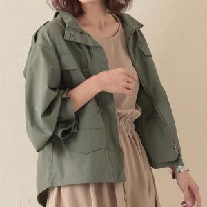ギルティで中村ゆりかが着用しているキャンディ袖ミリタリージャケットGRLの参考画像