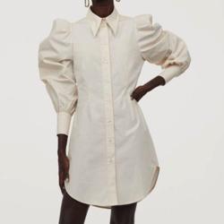 私の家政夫ナギサさん第2話で多部未華子が着用しているロングシャツH&Mの参考画像