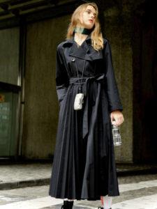 SUITSスーツ2で中村アンが着用していたCOTORICA.プリーツトレンチコートの参考画像