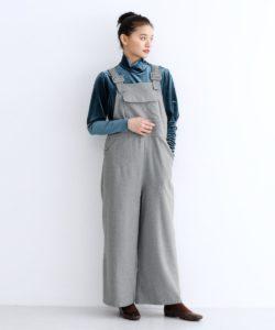 美食探偵明智五郎で小芝風花が着用しているオーバーオールmerlotの参考画像