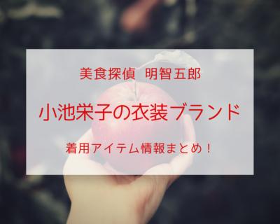 美食探偵で小池栄子が着用している衣装ブランドの参考画像