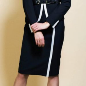 SUITSスーツ2で新木優子さんが着用しているスカートブランド参考画像