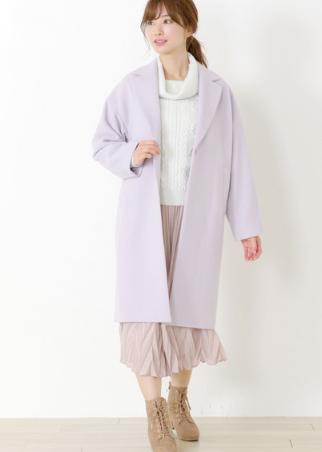 隕石家族で泉里香が着用しているコートのブランド参考画像