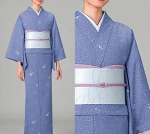 美食探偵明智五郎で小池栄子が着用している二部式着物風香の参考画像
