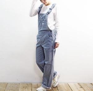 美食探偵明智五郎8話で小芝風花が着用しているオーバーオールLeeの参考画像