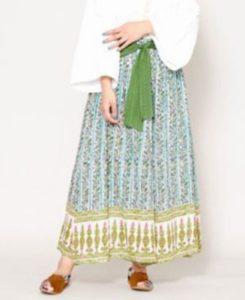 美食探偵明智五郎7話で小芝風花が着用しているワイドパンツ(チャイハネ)の参考画像