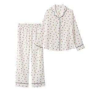 美食探偵明智五郎8話で小芝風花着用のパジャマGUの参考画像