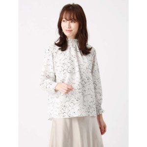 七人の秘書1話で大島優子が着用しているブラウスTHE SUIT COMPANY の参考画像