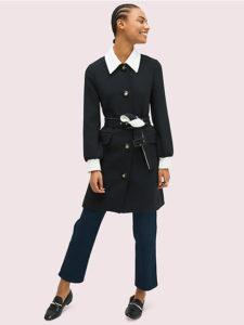 七人の秘書5話で大島優子が着用しているコートkatespeadの参考画像