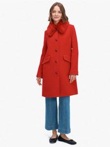 七人の秘書6話で大島優子が着用しているコートkatespeadの参考画像