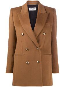 ウチの娘は彼氏が出来ない!!4話で管野美穂が着用しているジャケットSaintLaurentの参考画像