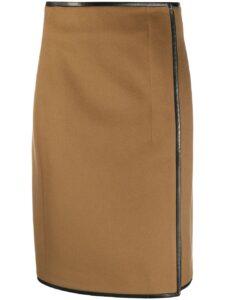 ウチの娘は彼氏が出来ない!!4話で管野美穂が着用しているスカートSaintLaurentの参考画像