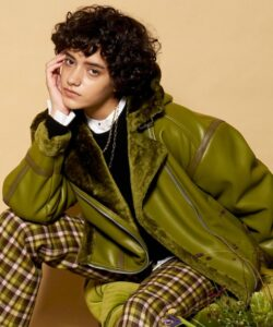 ネメシス1話で広瀬すずが着用しているジャケットMAISON SPECIALの参考画像