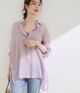 恋はDeepに2話で石原さとみが着用しているシャツROPEの参考画像