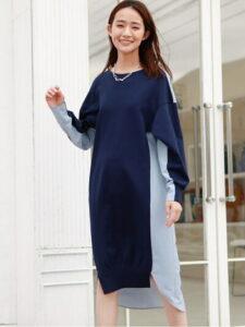 リコカツ2話で北川景子が着用しているワンピースCAST:の参考画像