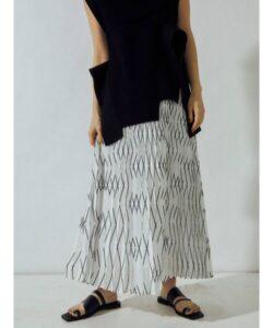 リコカツ6話で北川景子が着用しているスカートUN3D.の参考画像
