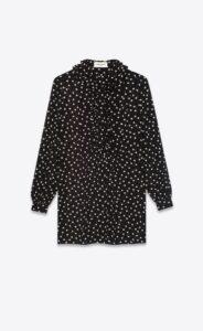 リコカツ8話で北川景子が着用しているワンピースSaint Laurentの参考画像
