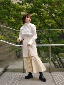 リコカツ9話で北川景子が着用しているスカートUNITED TOKYOの参考画像