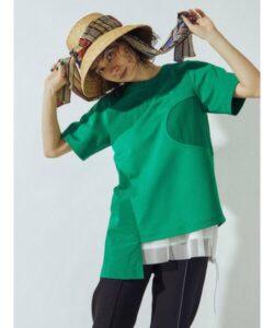 リコカツ9話で北川景子が着用しているTシャツUN3D.の参考画像