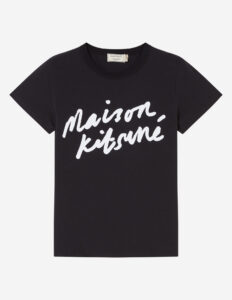 リコカツ最終話で北川景子が着用しているTシャツはMAISON KITSUNEの参考画像