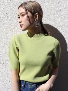 彼女はキレイだった6話で小芝風花が着用しているニットMURUAの参考画像