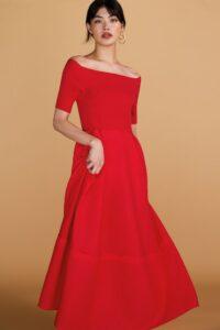 プロミス・シンデレラ1話で二階堂ふみが着用しているドレスADEAMの参考画像