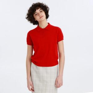 彼女はキレイだった1話小芝風花が着用しているポロシャツMACIKNTOSHI PHILOSOPHYの参考画像